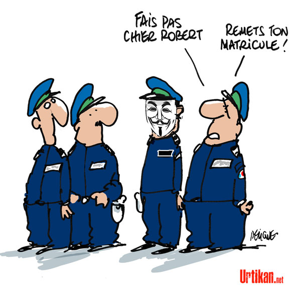 Policiers anonymous